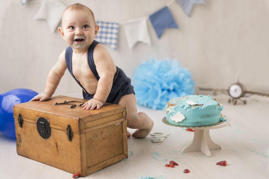fotografa smash cake